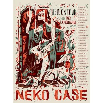 Neko Case Spring 2018 Tour Poster