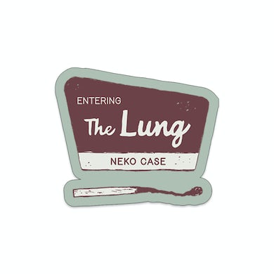 Entering the Lung Stickers