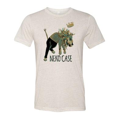 Neko Case Lion Tee - (Natural)