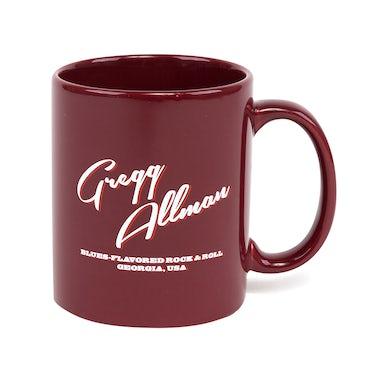 "Gregg Allman ""Blues-Flavored"" Mug - Red"