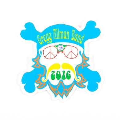 Gregg Allman Band Face Sticker 2016