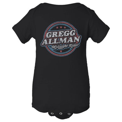 Gregg Allman Infant Midnight Rider Badge Onesie
