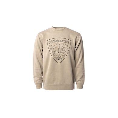 Ryan Hurd Buffalo Shield Crewneck Sweatshirt