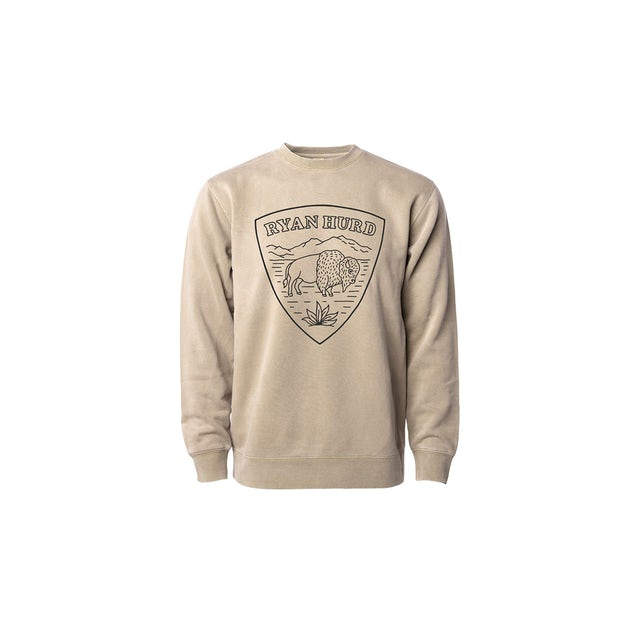 Ryan Hurd Buffalo Shield Crewneck Sweatshirt