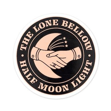 The Lone Bellow Half Moon Light Sticker