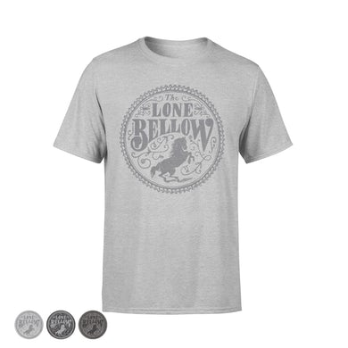 The Lone Bellow Unisex Grey Seal Shirt