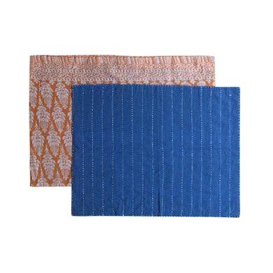 Yo-Yo Ma Sasha Crafts -- India: Reversible Tea Towel