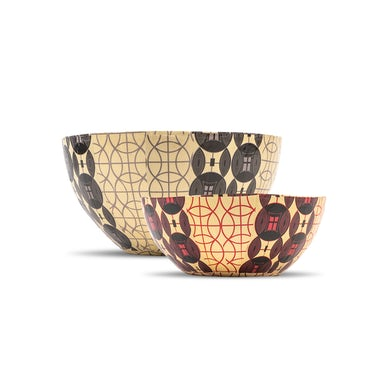 Yo-Yo Ma Wola Nani, South Africa: Nesting Paper Maché Bowls – Shields
