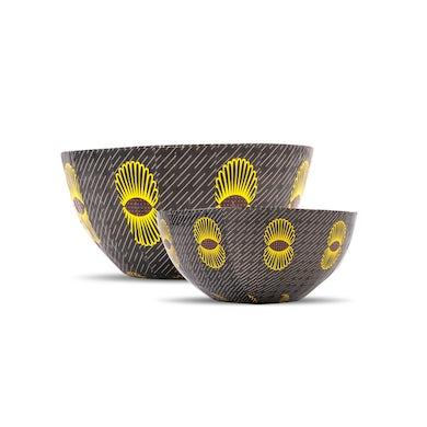 Yo-Yo Ma Wola Nani, South Africa: Nesting Paper Maché Bowls – Pineapples
