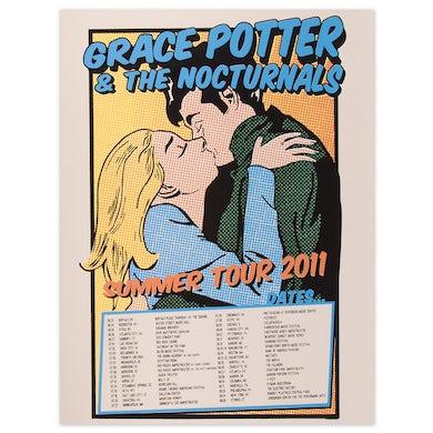 Grace Potter 2011 Summer Tour Poster