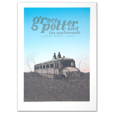 Grace Potter GPN Fall Poster - Houston TX 11/11/2012