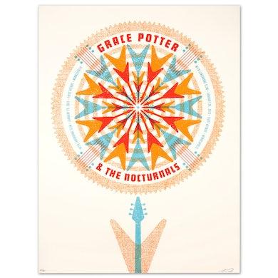 Grace Potter GPN - Langhorne Slim Jan. 25 & 26 2013 First Av. Minneapolis Print