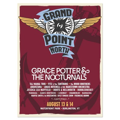 Grace Potter Signed Grand Point North Anchor Poster
