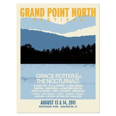 Grace Potter Signed Grand Point North Landscape Poster