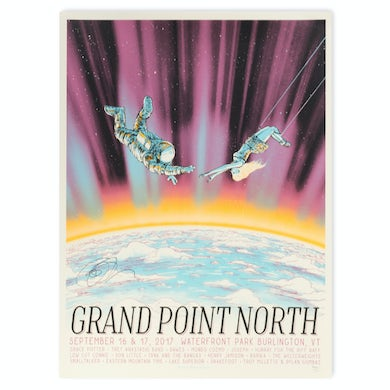 Grace Potter SIGNED Grand Point North 2017 Poster