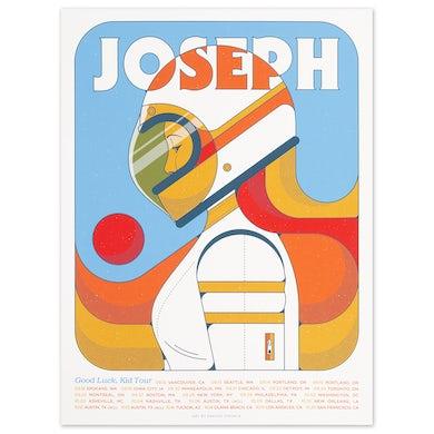 Joseph Good Luck Kid 2019 Tour Poster