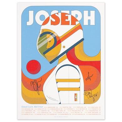 Joseph Good Luck Kid Tour Poster - Signed