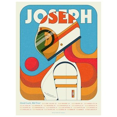 Joseph Good Luck Kid 2020 Tour Poster