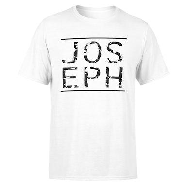 Joseph Logo Tee - White