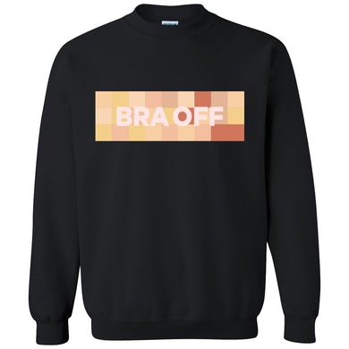 RaeLynn Bra Off Sweater - Black