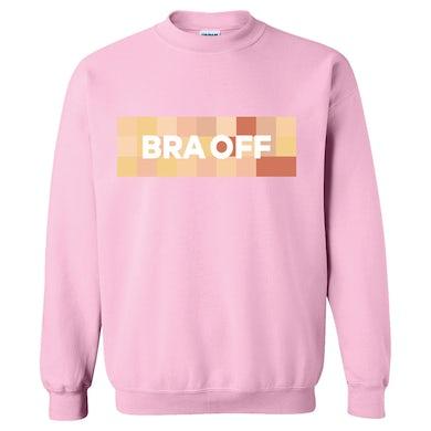 RaeLynn Bra Off Sweater - Pink