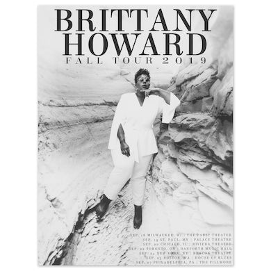 Brittany Howard First Leg Fall Tour Poster