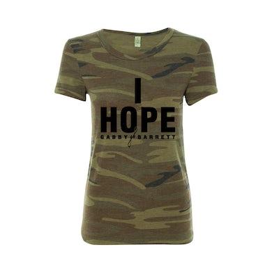 "I Hope"" Ladies Camo Tee"