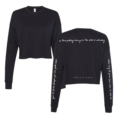 "Tenille Arts ""Give It to Me Straight"" Cropped Fleece"