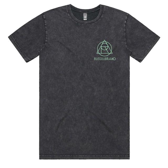 Russell Brand Stone Wash Logo Tee