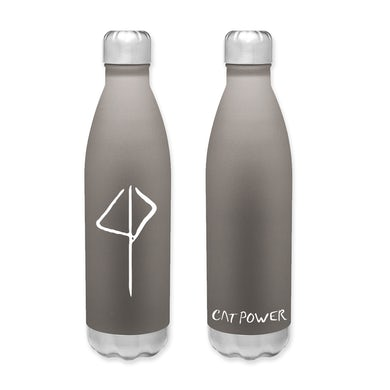 Cat Power Logo Water Bottle