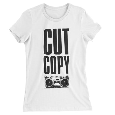 Women's Boom Box T-Shirt - White