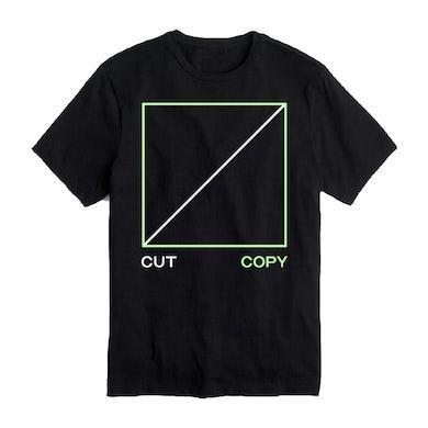 Cut Copy Freeze, Melt Black T-shirt