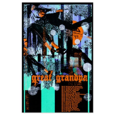 Great Grandpa Spring 2020 Tour Poster