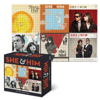 She & Him Limited Edition Album Puzzle
