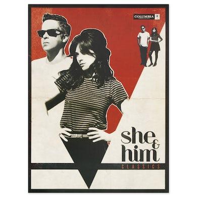 She & Him CLASSICS 18 X 24 LITHO