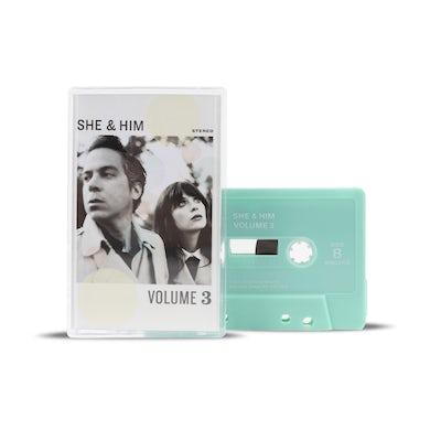 She & Him VOLUME 3 CASSETTE TAPE