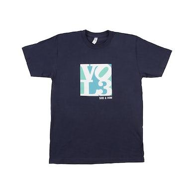 She & Him Mens VOL 3 T-Shirt