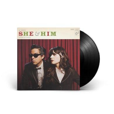 She & Him A Very She & Him Christmas LP (Vinyl)