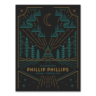 Phillip Phillips Winter 2020 Tour Poster