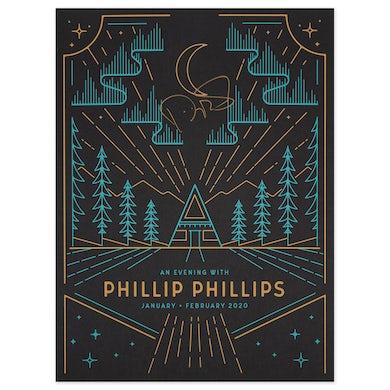Phillip Phillips Winter 2020 Tour Poster (Signed)
