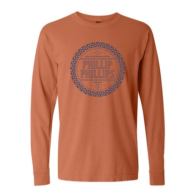 Phillip Phillips Pattern Long Sleeve Tee