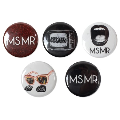 Ms Mr MSMR Button Pack (5)