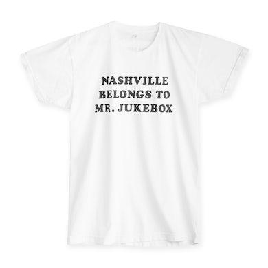 Joshua Hedley Nashville Belongs to Mr. Jukebox T-Shirt