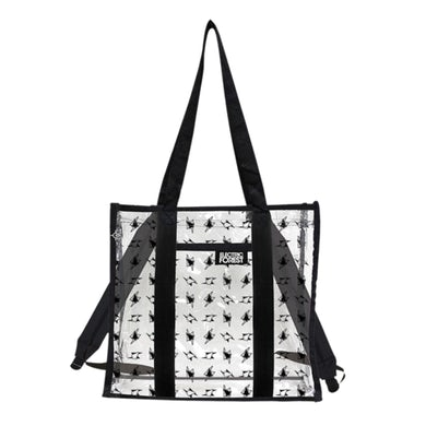 Electric Forest Festival Clear Convertible Tote / Backpack