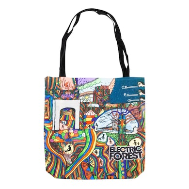 Electric Forest Festival The Electric Forest x We Are Lions Collaborate Tote