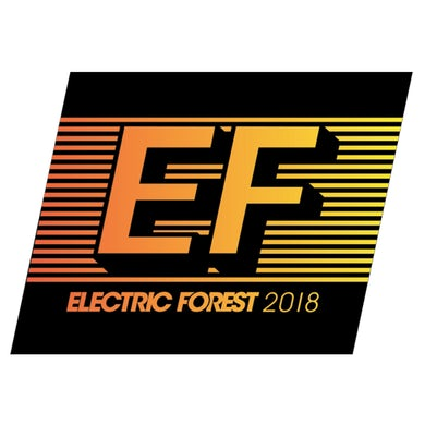 Electric Forest Festival EF Logo Sticker