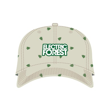 Electric Forest Festival Grassroots CA Custom Khaki Dad Hat