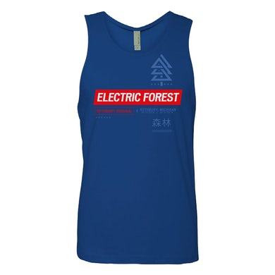 Electric Forest Festival Electric Forest Symbol Tank