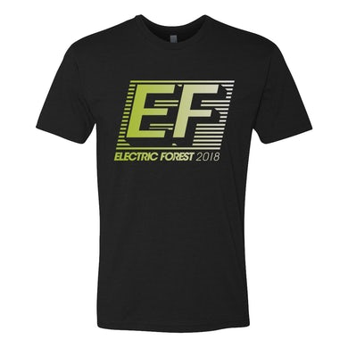 Electric Forest Festival EF Gradient Line-up Tee
