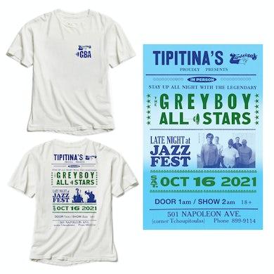 Greyboy Allstars Tipitina's 2021 T-Shirt/Poster Bundle